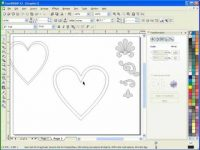 Using Corel Draw's Interactive Contour Tool