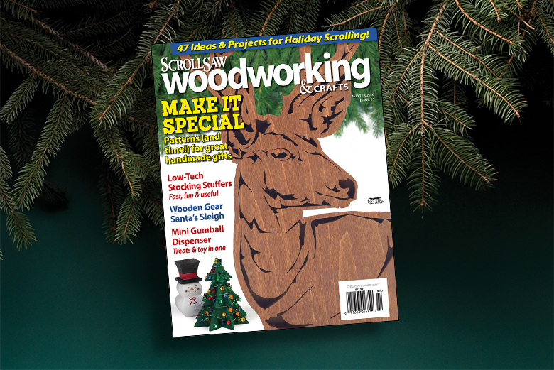 Scroll Saw Woodworking Crafts Winter 2017 Issue 69 Scroll Saw