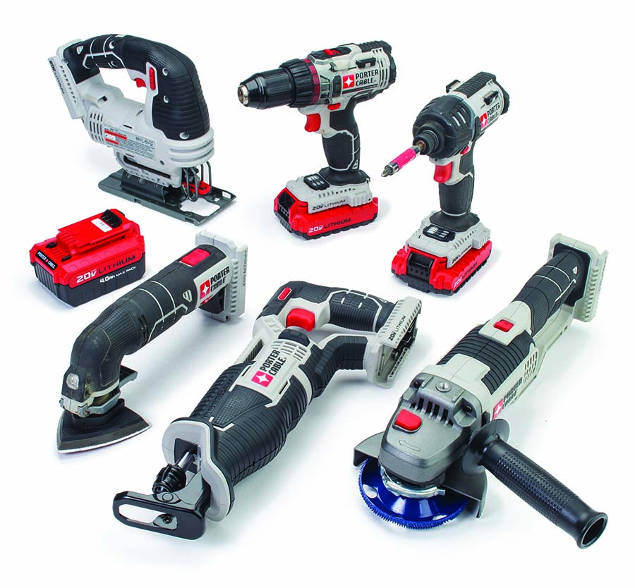 Porter Cable  20-Volt Lithium Ion Battery Tools