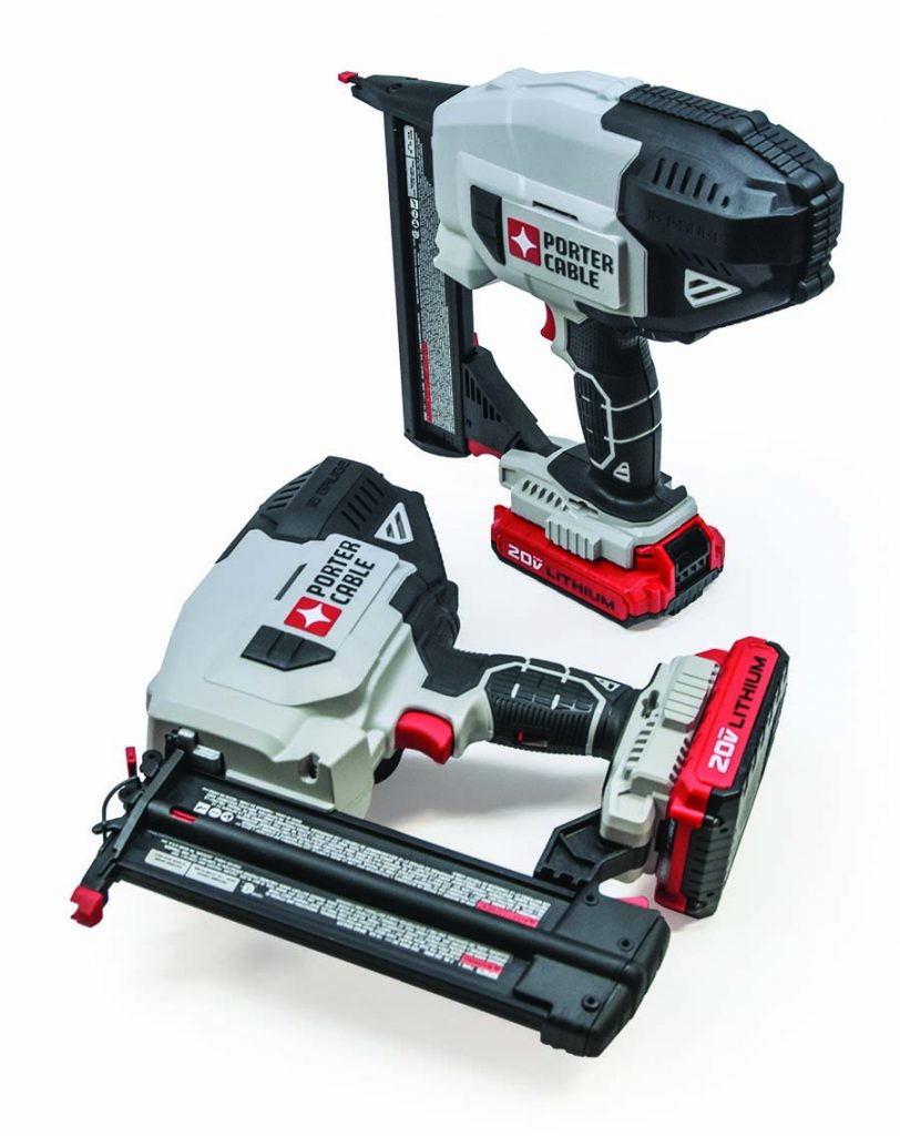 Porter Cable Cordless Nailer & Stapler