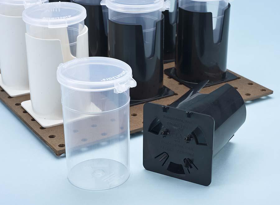 Smart Jars Pegboard Organizers