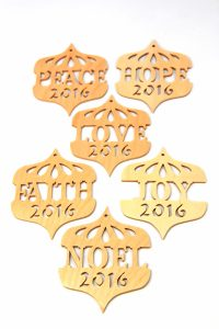 2016 Christmas Ornaments