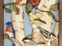 Spring Gathering Intarsia