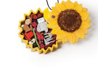 Sunflower Puzzle Box Pendant