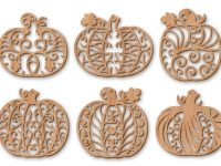 Filigree Fretwork Pumpkins