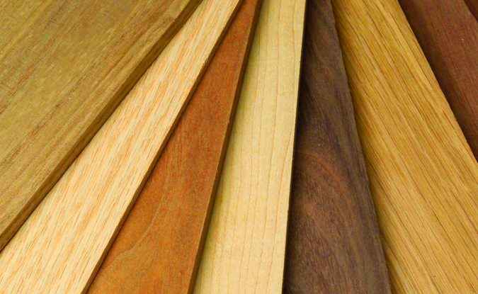 Selecting Intarsia Wood