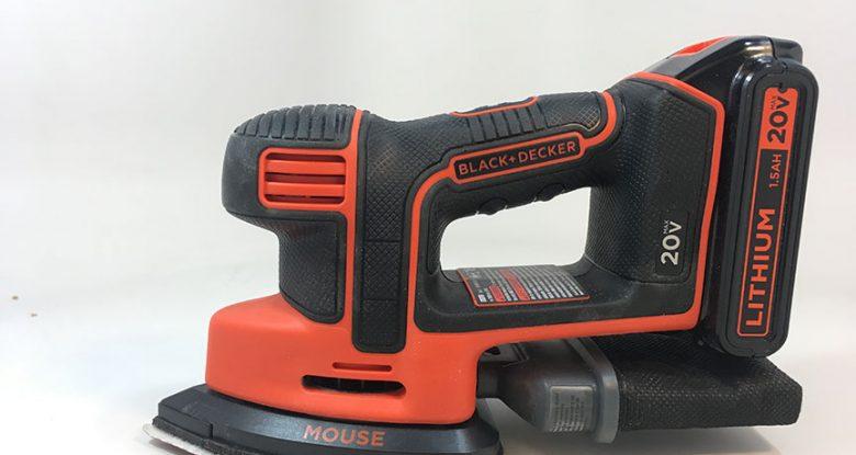 Product Review: Black & Decker Cordless Mouse® Detail Sander