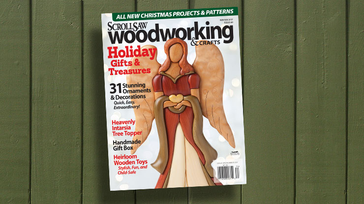 Scroll Saw Woodworking & Crafts Winter 2017 (Issue 69)
