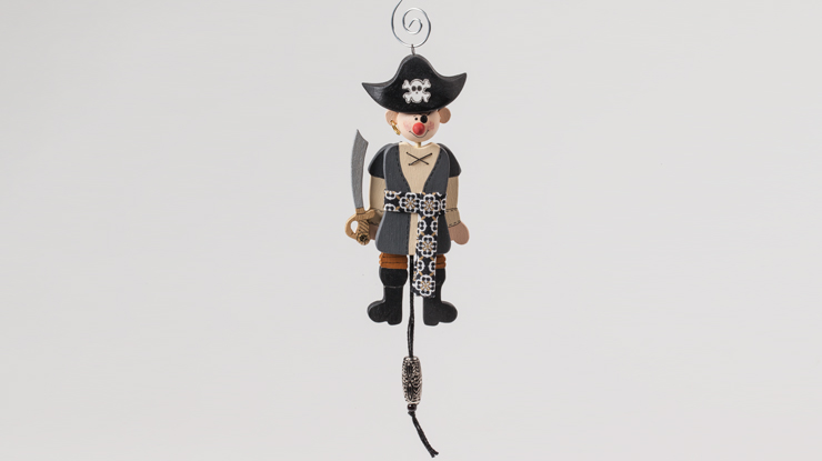 Jointed Pirate Ornament