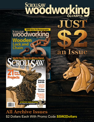 Scroll Saw Magazine - All archive issues $2 each