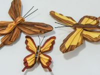 Creating Colorful Butterfly Magnets