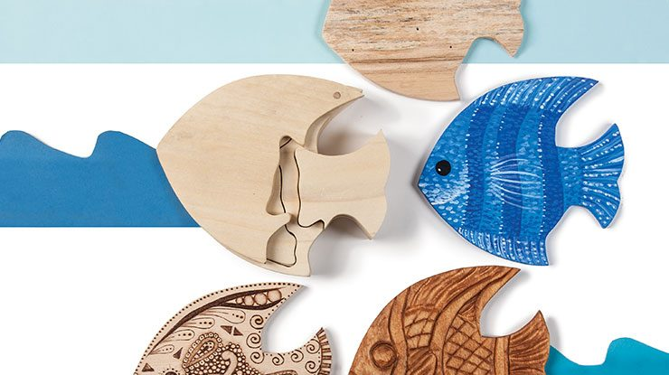 Creating a Fish-Shaped Puzzle Box