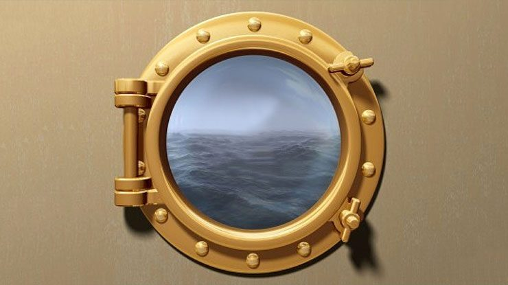 Porthole Picture Frame