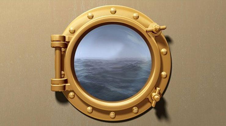 Porthole Picture Frame