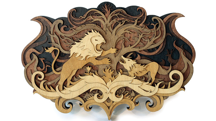 Scroll saw woodworking crafts spotlight martin tomsky fandeluxe Images
