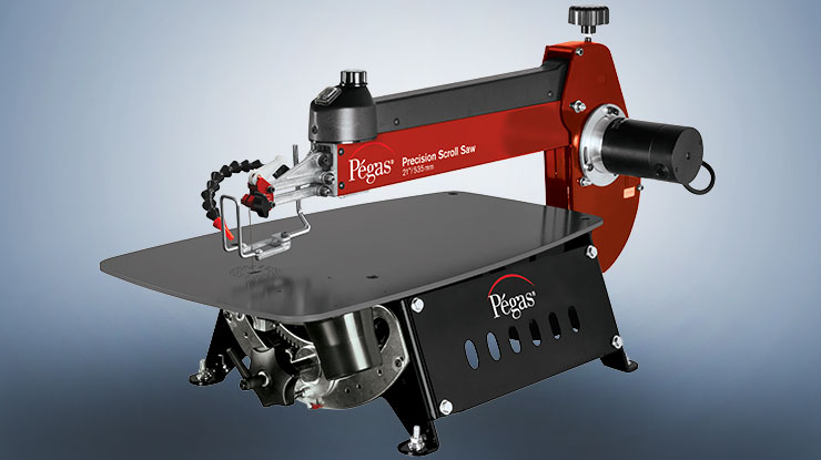 Product Review: Pégas Scroll Saw
