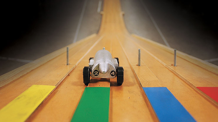 Making the Best Pinewood Derby Car