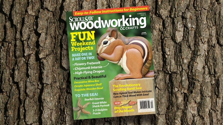 Scroll Saw Woodworking & Crafts Summer 2019 (Issue #75)