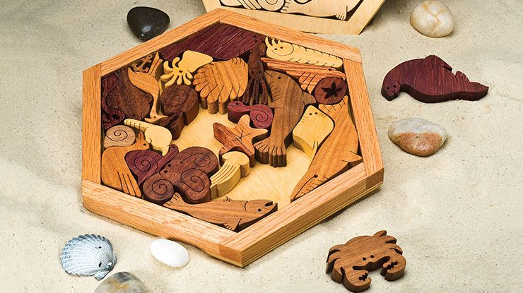 How to Make a Beachy Sealife Puzzle