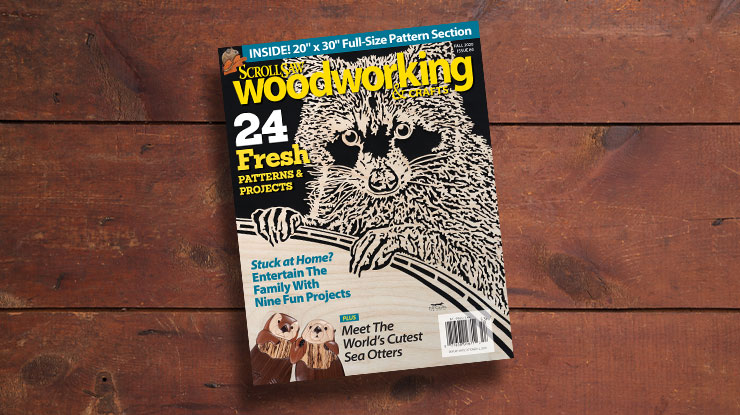 Scroll Saw Woodworking & Crafts Fall 2020 (Issue #80)