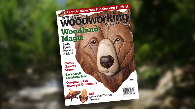 Scroll Saw Woodworking & Crafts Winter 2020 (Issue #81)