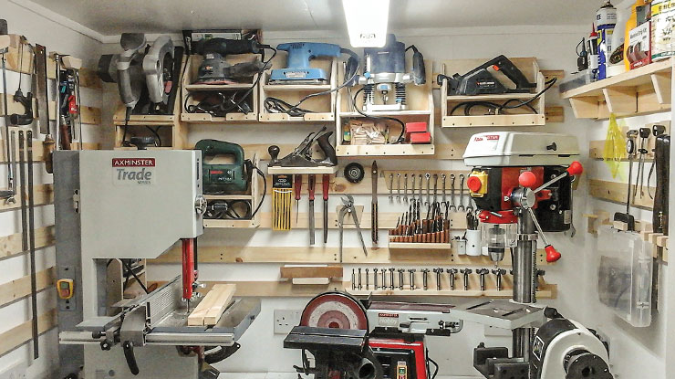 Space-Saving Hacks from a Tiny Workshop
