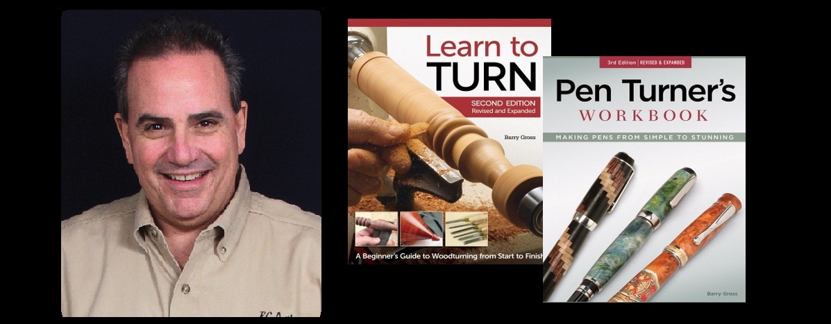 Master Woodturner Barry Gross Scheduled for Open House 2015