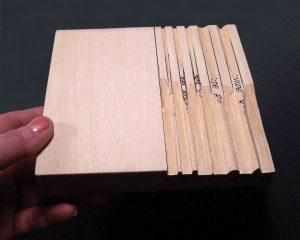 Custom Honing Board