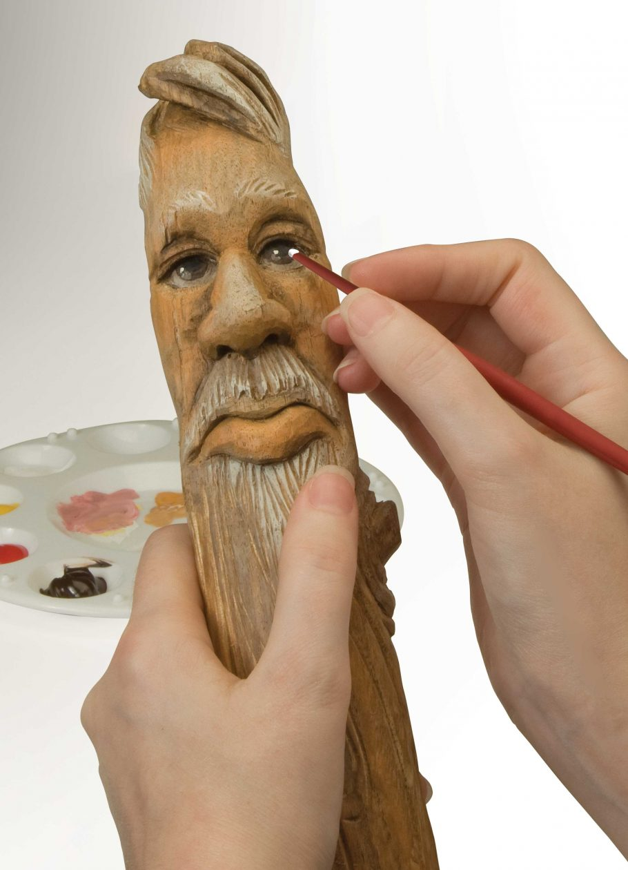 Realistic Skin Tones and Practice Walking Stick Topper Patterns
