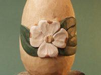 Dogwood Floral Egg