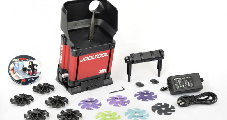 JoolTool helps you get perfect edges on carving tools—fast