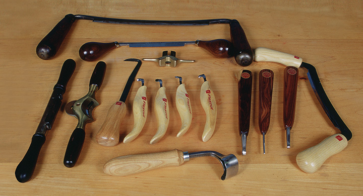 All About Drawknives, Spokeshaves, and Scorps