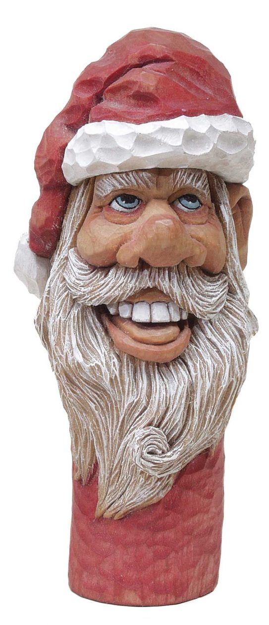 Saint Nick Cane Topper