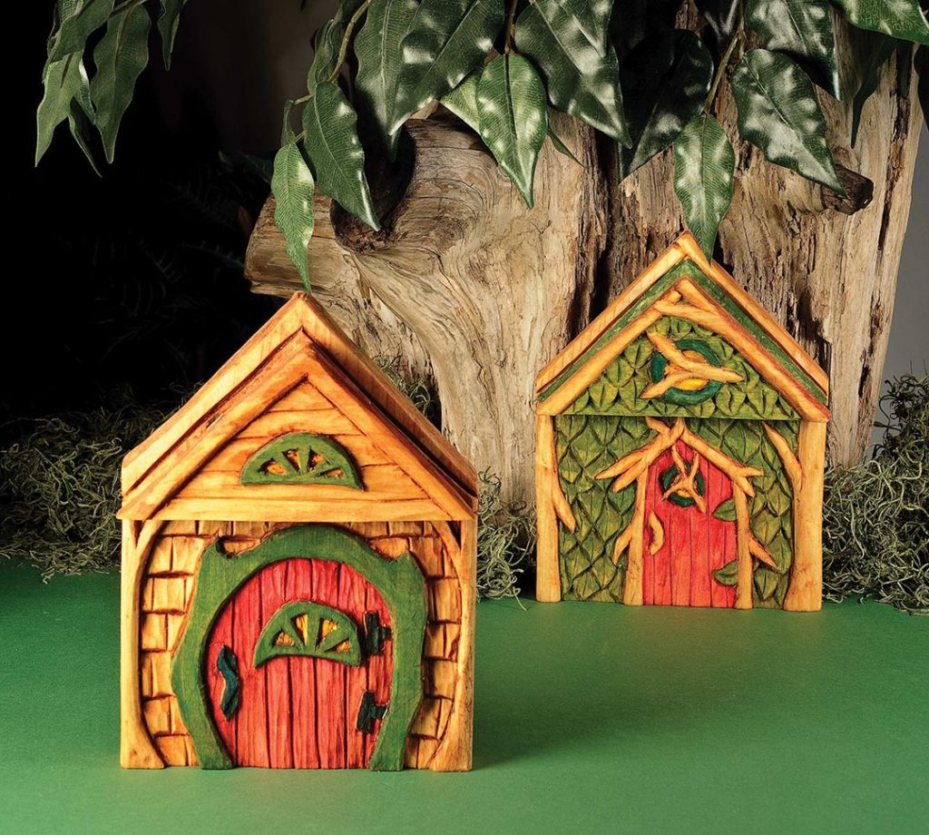 Relief Carve a Magical Fairy Door