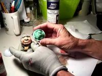 Painting a Carved Golf Ball Part 3