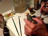 Painting a Miniature Figure Part 1