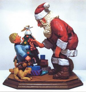 2010 Best Carving Design Contest: Santa Carving Division Winners