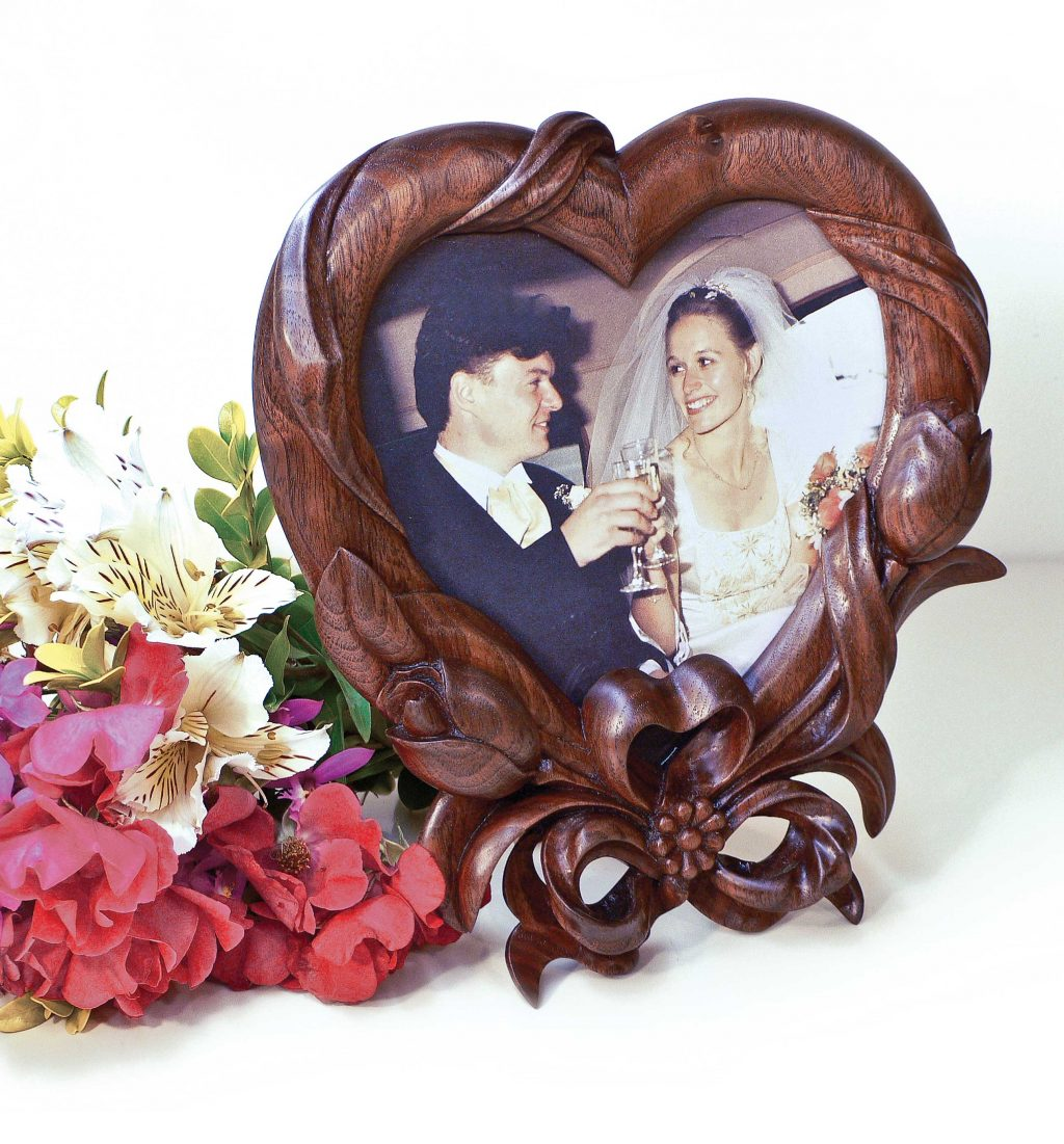 Ribbon and Flowers Frames