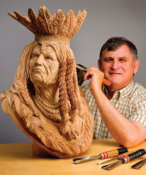 Vic Hood is the 2011 Woodcarver of the Year