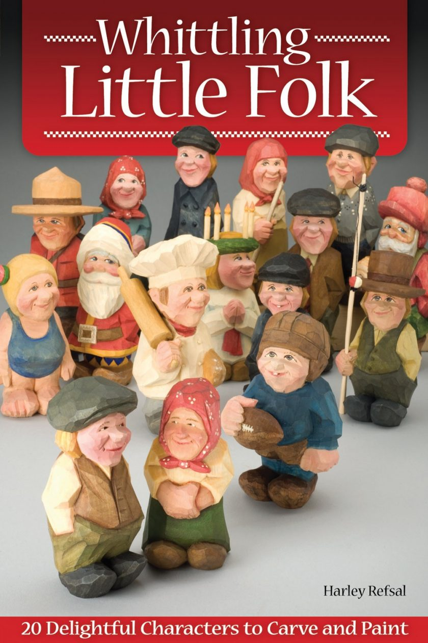 Whittling Little Folk – Pattern Correction