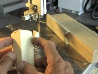 Making a Cowboy Bottle Stopper Blank Cut-Out