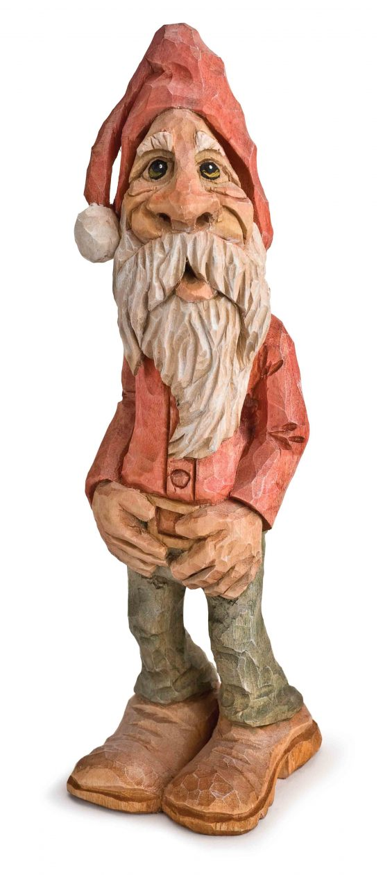 Caricature santa bonus pattern woodcarving illustrated