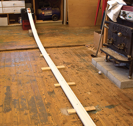 Pinewood Derby Test Track