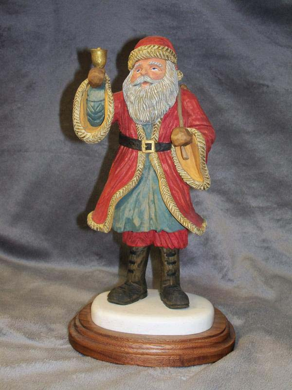 2011 Best Carving Design Contest: Santa Category Winners