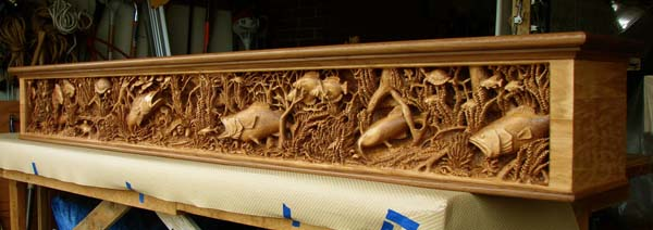 2011 Best Carving Design Contest: Relief Category Winners