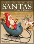 Carving-Wooden-Santas