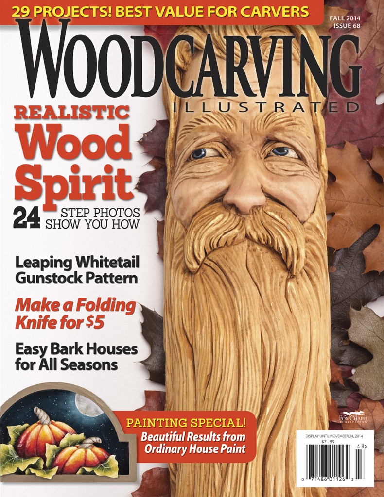 Woodcarving Illustrated Fall 2014 Issue 68 is Now Available!