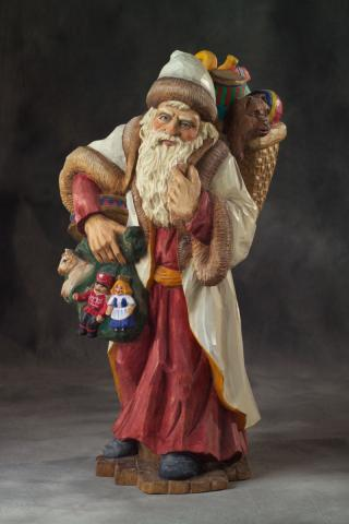 2007 Santa Carving Contest – People's Choice Award