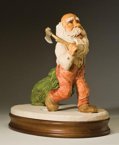 2007 Santa Carving Contest – Grand Prize Winner