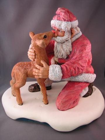 2008 Santa Carving Contest – Honorable Mentions